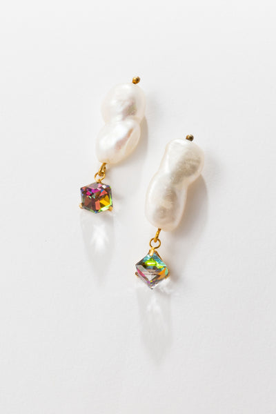 Mini Cloud Drop Earrings - shoparo