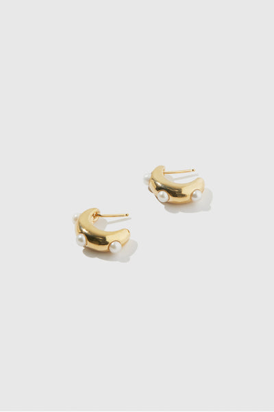 Isla Pearl Earrings - shoparo