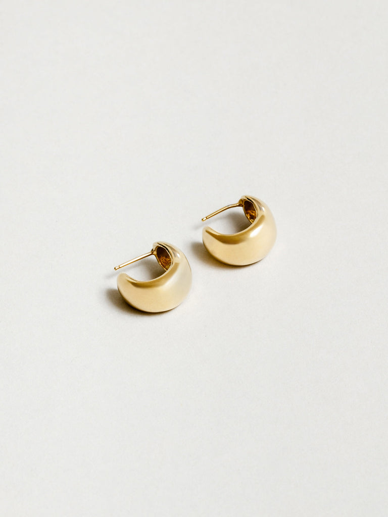 Large Remy Hoops in Gold