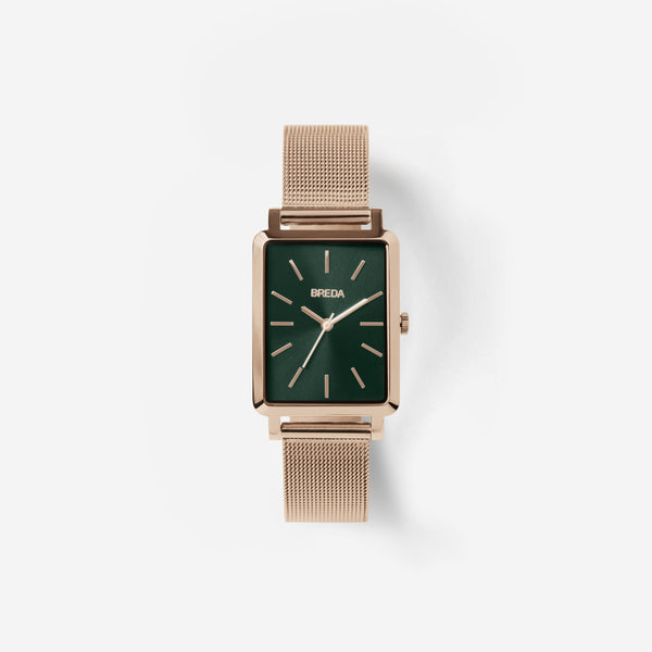 Baer Mesh Watch in Rosegold