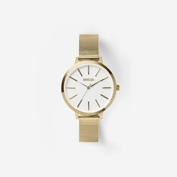 Joule Mesh Watch in Gold