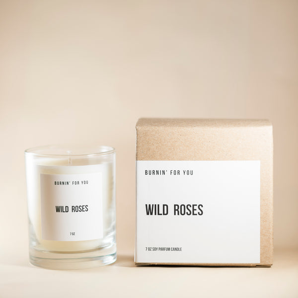 Wild Roses Candle