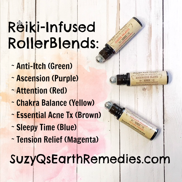 RollerBlends(TM) Rollerball Remedies
