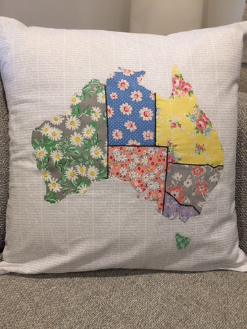 Vintage Inspired Aussie Cushion Kit
