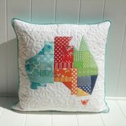 "The ""Aussie"" Foundation Pieced cushion:  Saturday 30th June from 12:45pm to 3:15pm"