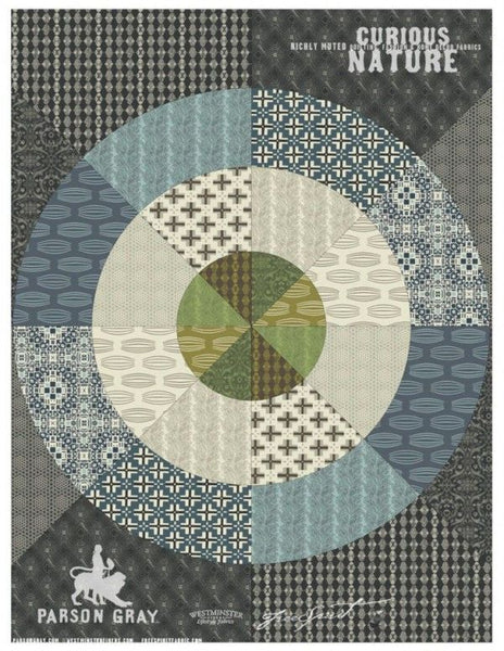 Bullseye quilt class at Calico and Ivy