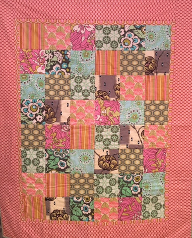 Beginner's Patchwork with Elissa - make a Simple Quilt
