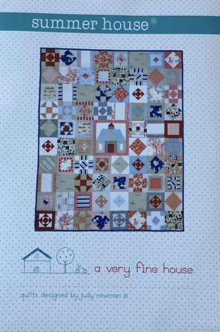 Summer House Quilt Pattern