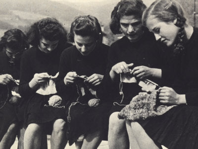 Drop-in, Knit & Chat Wednesdays 1:00-3:00pm.