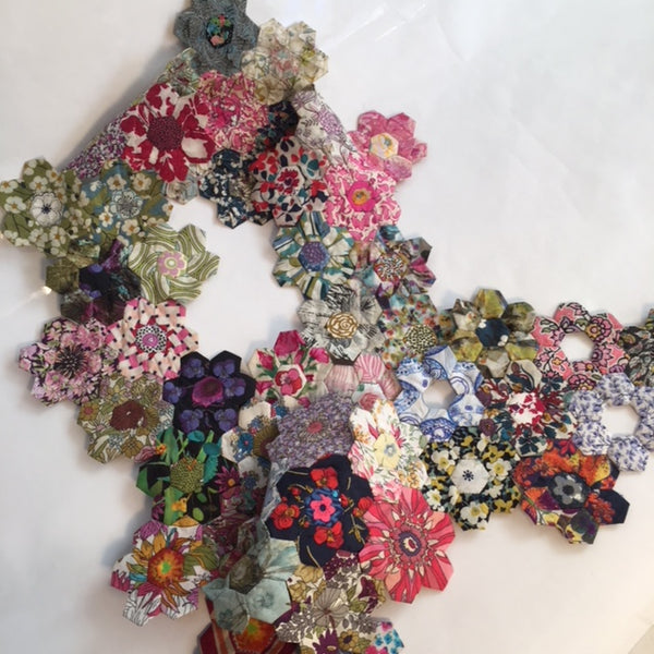 Liberty Hexagon Scarf - From Tuesday 16th JAN to Tuesday 30th JAN