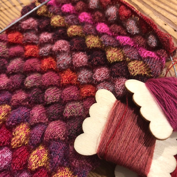 Knitted Pangolin Scarf - Sunday, 31st March 2019 2019 from 11:30am to 2:00pm