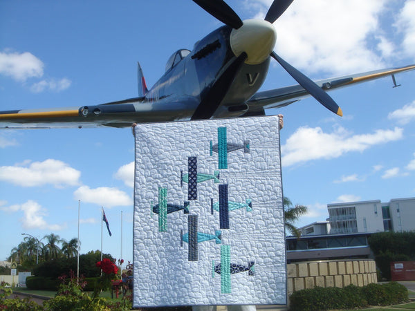 "The ""SQUADRON LEADER"" Baby Quilt:  Sunday 17th March 2019, From 11:00am to 3:00pm"