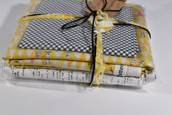 Baby cot quilt kit from Calico and Ivy Make it yourself!