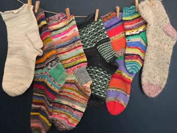 Sock class at Calico and Ivy
