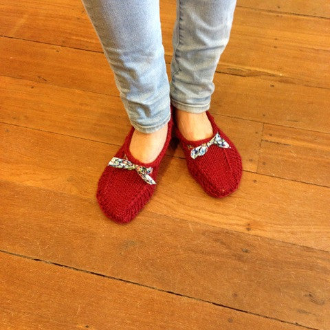Winter Slippers with Canadian Kate - Monday 24th July
