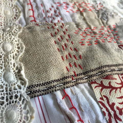 Slow Stitching Workshop with Lisa Mattock - Friday 6th April 2018