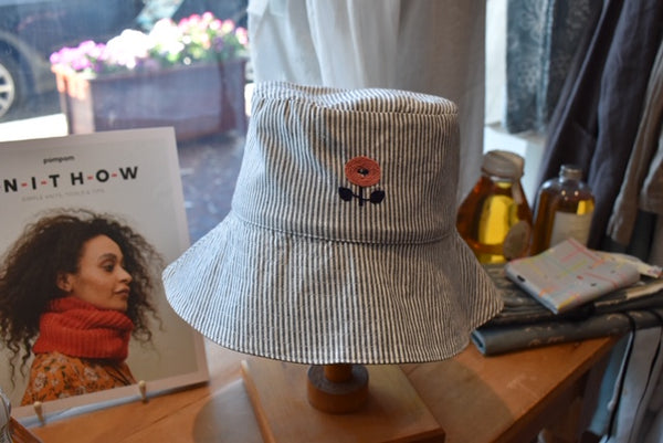 Sewing Class:  Sorrento Bucket Hat - Monday 9th and 16th March 2020.