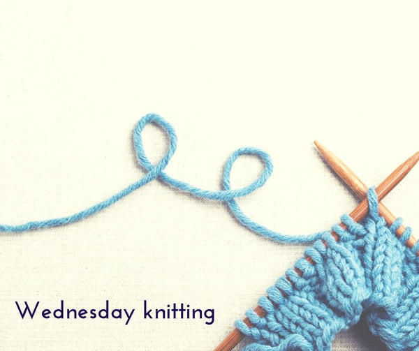 "Wednesday ""We'll have you in STITCHES Group""  Every Wednesday from 1:00pm to 3:00pm"