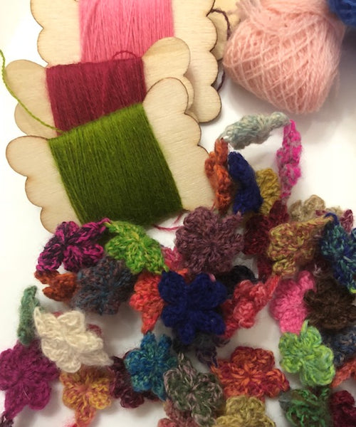 Hand Crocheted Necklace class at Calico and Ivy