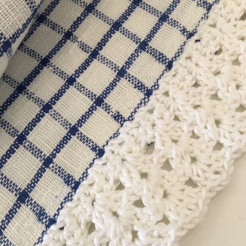 Crochet Edgings - 2 classes Saturday 1st and 8th September from 12:45 to 3:15pm