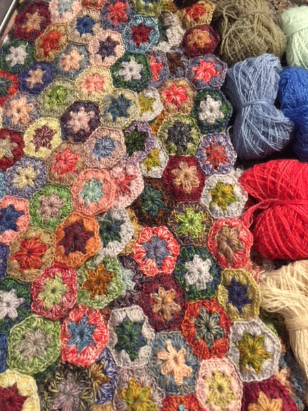 Advanced crochet class at Calico and Ivy