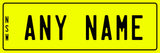Personalised Novelty Licence Plates