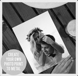 Personalised Photo Print to Metal