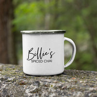 Personalised Gift Pack | Camping Mug + Spiced Chai + Organic Panela + Spoon