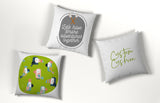 Personalised Printed Name Cushions | Custom Designed