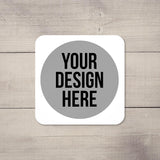 Create Your Own Customised and Personalised Drinks Coaster Set of 4