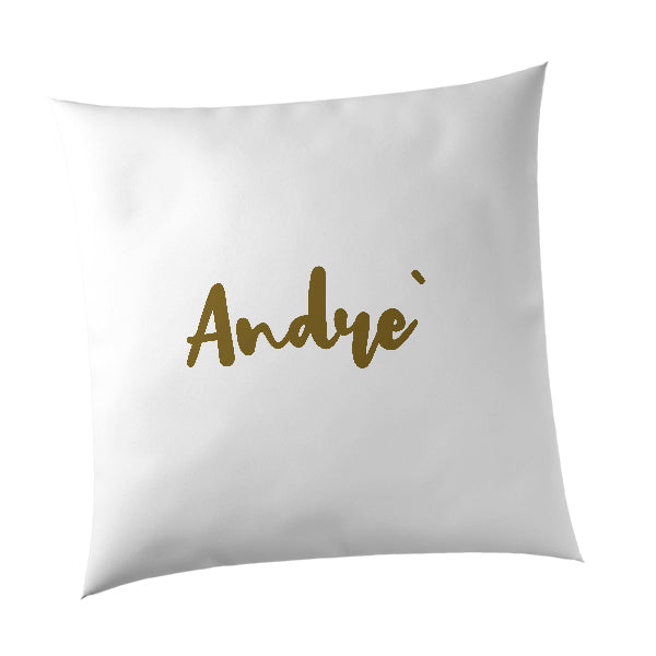 Personalised Printed Name Cushions | Freehand