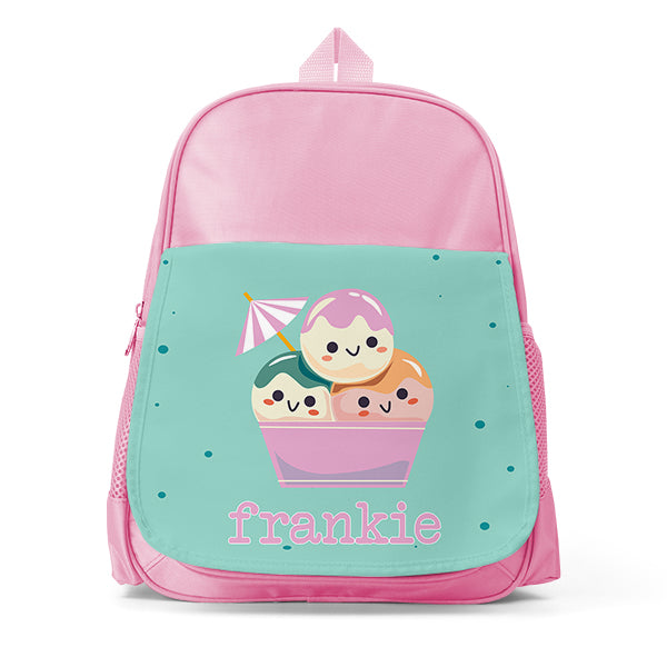 Mini Kids Personalised Backpack - School Bag - Daycare Bag with Name