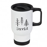 Personalised Travel Mug - White
