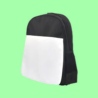 Printable kids school bag - Black