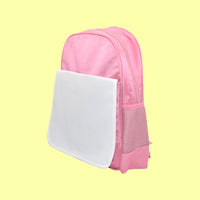 Printable kids school bag - Pink