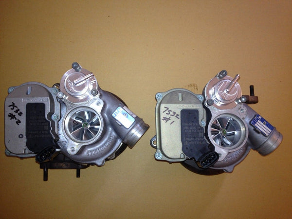 ByDesign 997TT GT2 Upgraded Billet 65mm VTG Hybrid TURBO's - PAIR - NEW 750hp - Porsche 997.1 Turbo / GT2 (2007 - 2009)