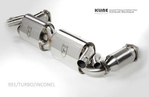 KLINE Innovations Exhaust - Porsche 991 Turbo