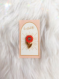 Knowing Flower Enamel Pin