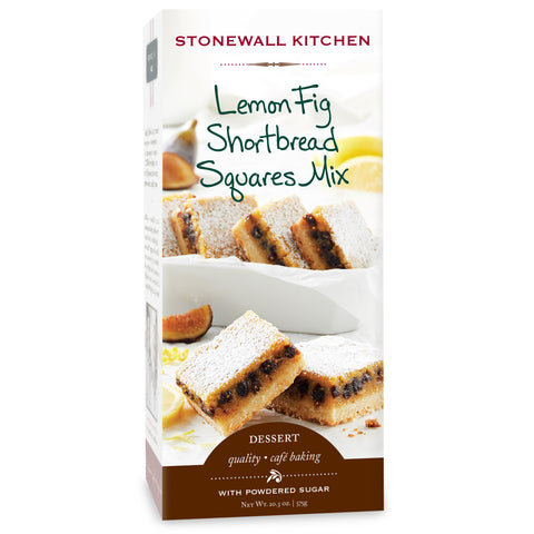 Lemon Fig Shortbread Squares Mix