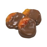 Milk or Dark Chocolate Dipped Apricot (qty 3)