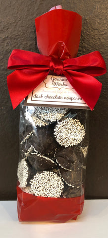 Valentines Dark Chocolate Nonpareils