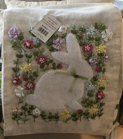 Meadow Bunny Table Runner
