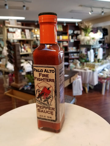 Palo Alto Fire Fighters Habanero Pepper Sauce