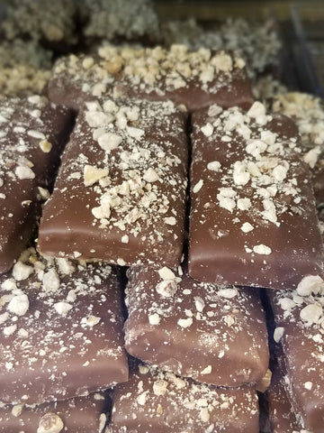 Milk or Dark Chocolate Toffee (0.25 lb increments)