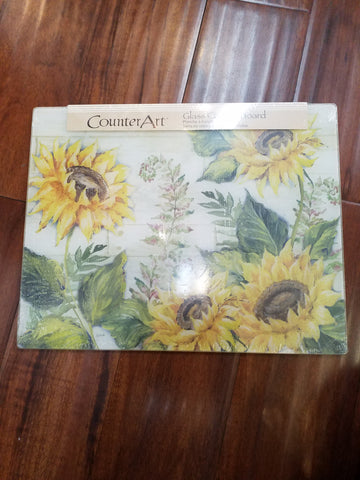 Sunflowers 12x15 Cutting Board