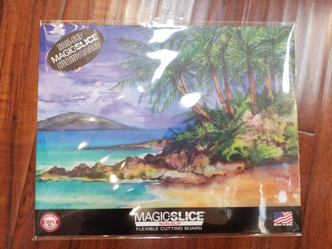 Tropical Beach Flexible Cutting Board