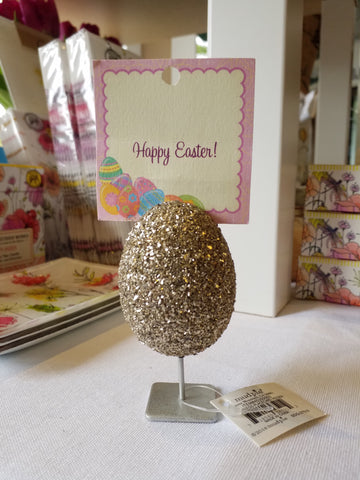 Egg Placecard Holder
