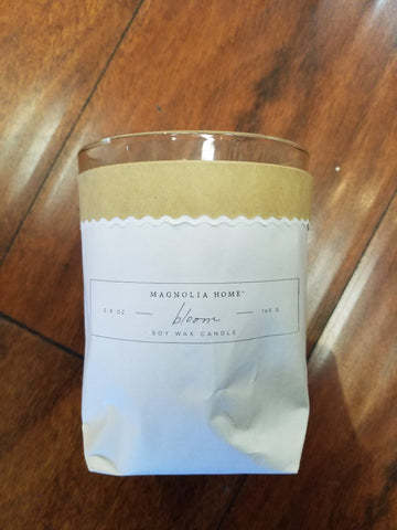 Bloom Soy Wax Candle