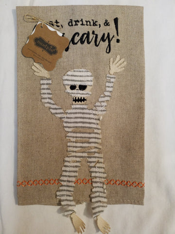 Mummy Dangle Leg Towel