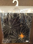 Spooky Spiderweb Table Runner